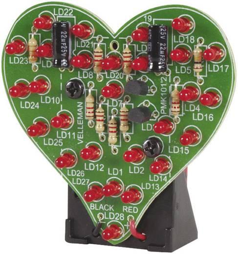 Villogó szív építőkészlet, Velleman MK101