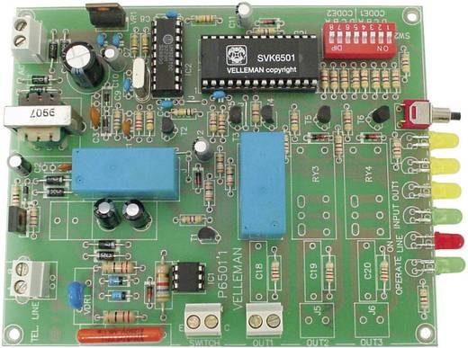 Telefonos vezérlő modul, építőkészlet 12 V/AC Velleman K6501