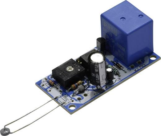 Hőmérséklet szabályozó, vezérlő modul, építőkészlet -30 és +150 ° C 12-14 V / DC Kemo B048