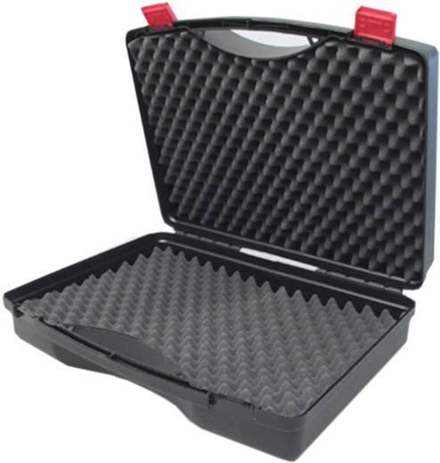 Műszerkoffer, szerszámtáska méret 275 x 230 x 83 mm, fekete Viso Tekno