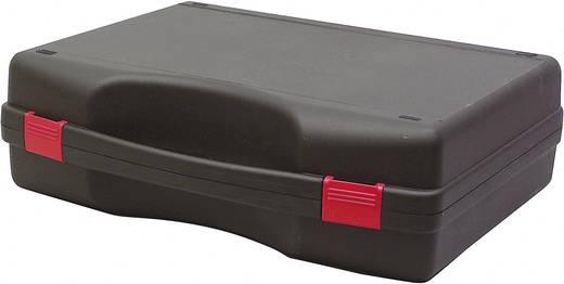 Műszerkoffer, szerszámtáska méret 450 x 360 x 140 mm, fekete Viso Tekno