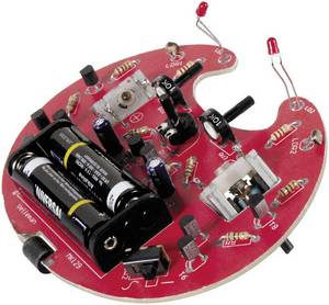 Miniatűr szaladó robot, építőkészlet, Velleman MK129 (MK129) Velleman