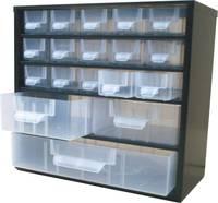Alkatrésztároló szekrény 18 részes fiókkal 310x155x285mm Viso (8118) VISO