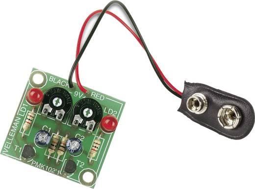 LED-es villogó építőkészlet 9V Velleman MK102