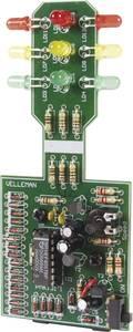 LED-es közlekedési lámpa építőkészlet 9V Velleman MK131 Velleman