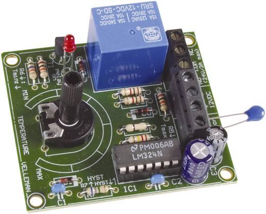 Hőfokkapcsoló építőkészlet, termosztát építőkészlet 12 V/DC +5 bis +30 °C Velleman MK138