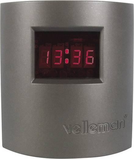 Digitális, LED-es óra építőkészlet 9 V, Velleman MK151