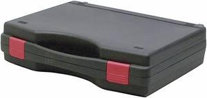 Műszerkoffer, szerszámtáska méret 340 x 275 x 83 mm, fekete Viso Tekno (TEK2007) VISO