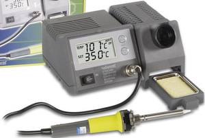 Digitális forrasztóállomás 48W, +150 ... +450 °C, Vellemann VTSSC40N (VTSSC40N) Velleman