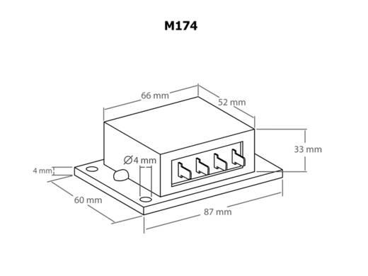 Kemo 16A-es kettős szolár töltésszabályzó modul, Kemo M174