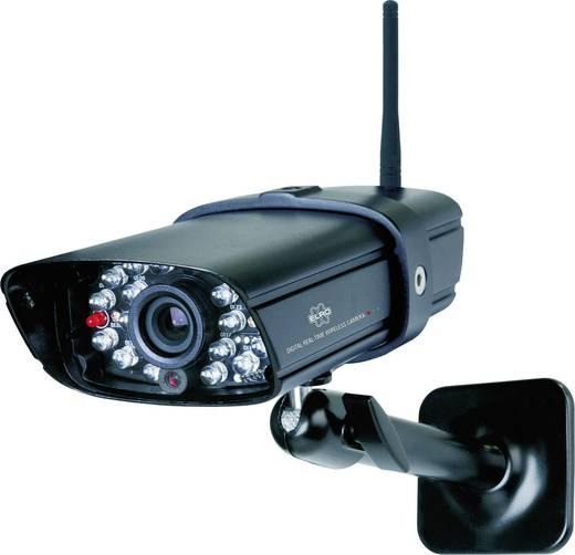 Kiegészítő vezeték nélküli kamera kültérre, 480 x 272 pixel, ELRO