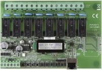 Velleman Ethernet relékártya VM201 Modul 12 V/AC Kimeneti feszültség 8 db relé érintkező, 12 A/30 V/DC vagy 16 A/230 V/A Velleman