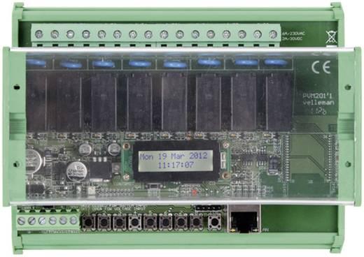 Velleman Ethernet relékártya VM201 Modul 12
