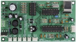 Vezérlőkártya Velleman K8096 12 V/DC, 24 V/DC 1 A Velleman