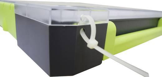 Zárható alkatrésztároló koffer, táska 21 részes elválasztó rekesszel 375x70x425mm Viso W385-21