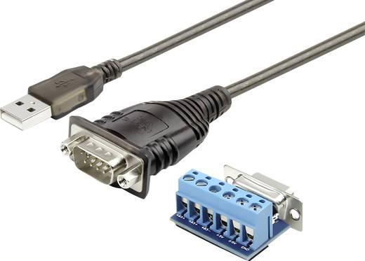 USB 2.0 csatlakozókábel 1 x RS485 dugó - 1 x USB 2.0 dugó A, fekete