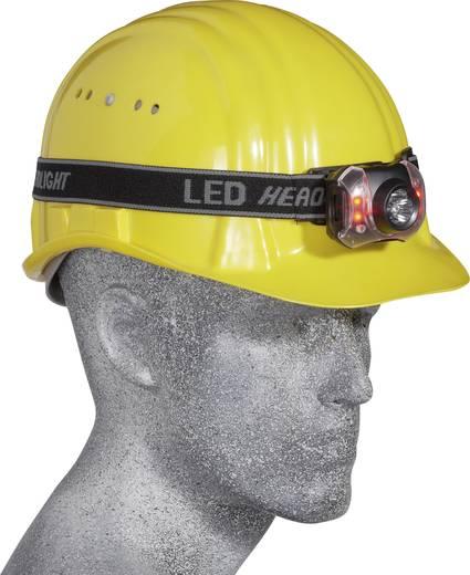 LED-es fejlámpa, elemes, 3 + 4 LED, Grundig 46606