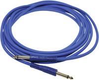 Hangszer csatlakozókábel [1x Jack-dugó, 6,35 mm-es - 1x Jack-dugó, 6,35 mm-es] 4.00 m Kék Paccs IC52BL040SD Paccs