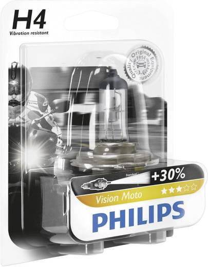 Philips Vision Moto H4 12 V P43t, átlátszó