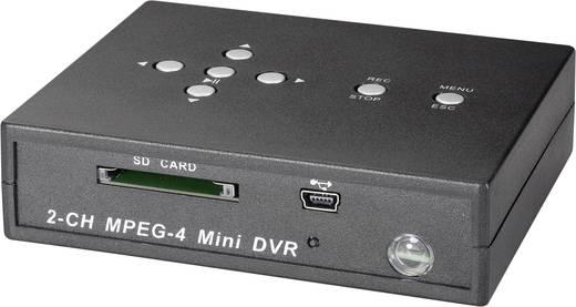 2 csatornás SDHC digitális felvevő, Renkforce