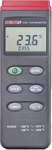 1 csatornás digitális K típusú hőmérő, -200 - +1370 °C, Voltcraft K201 VOLTCRAFT