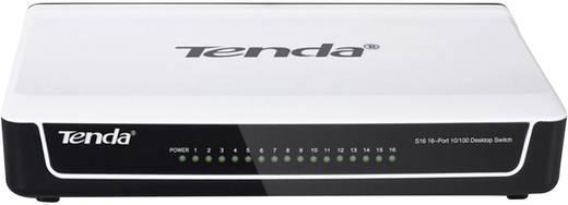 Hálózati switch 16 Portos RJ45 100 MBit/s Tenda S16