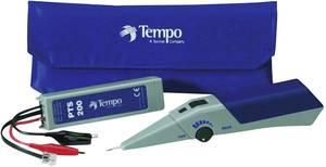 Vezetékvizsgáló kábelteszter és hanggenerátoros vezetékkereső, max.10 km vezetékhosszig Greenlee PTS100/200 Tempo Communications