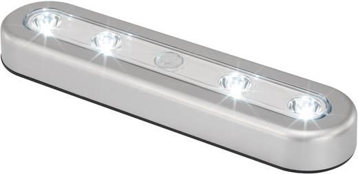 LED-es polc alá szerelhető lámpa, 0,8 W, Renkforce SN301S, ezüst színű