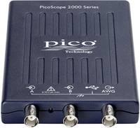 USB-s oszcilloszkóp előtét, funkciógenerátor és spektrumanalizátor 2 csatornás 25 MHz-es 100 MSa/s pico Scope 2205A pico