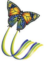 Papírsárkány, lepkés gyereksárkány 950mm Günther 1151 Butterfly Günther Flugspiele