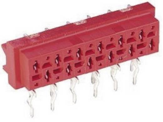 Nyáklap-nyáklap és szalagkábel-nyáklap csatlakozó, Raszterméret=1.27 mm Mikro-MaTch TE Connectivity 7-215460-6