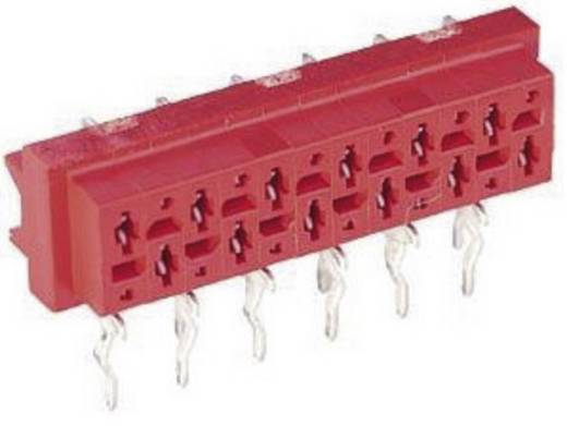 Nyáklap-nyáklap és szalagkábel-nyáklap csatlakozó, Raszterméret=1.27 mm Mikro-MaTch TE Connectivity 7-215460-8