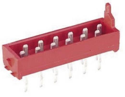 Nyáklap-nyáklap és szalagkábel-nyáklap csatlakozó, Raszterméret=1.27 mm Mikro-MaTch TE Connectivity 7-215464-6