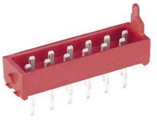 Nyáklap-nyáklap és szalagkábel-nyáklap csatlakozó, Raszterméret=1.27 mm Mikro-MaTch TE Connectivity 7-215464-8