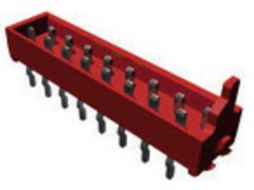 Nyáklap-nyáklap és szalagkábel-nyáklap csatlakozó, Raszterméret=1.27 mm Mikro-MaTch TE Connectivity 7-215464-4