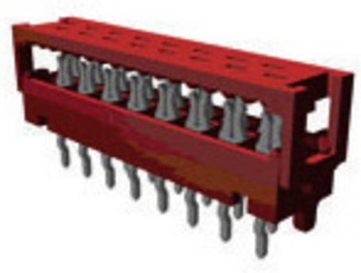 Nyáklap csatlakozó, raszterméret: 1.27 mm , pólus: 4 , névleges áram: 1.5 A Mikro-MaTch TE Connectivity , tartalom: 1 db