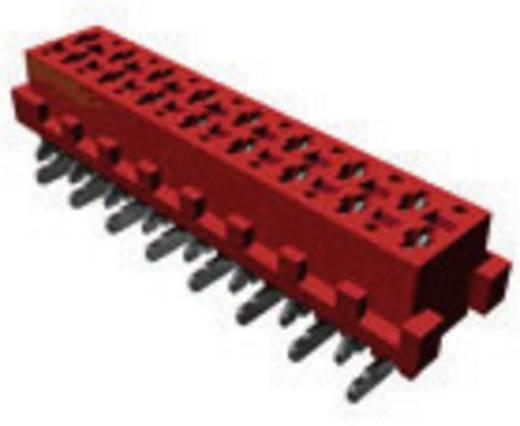 Nyáklap-nyáklap és szalagkábel-nyáklap csatlakozó, Raszterméret=1.27 mm Mikro-MaTch TE Connectivity 7-188275-4