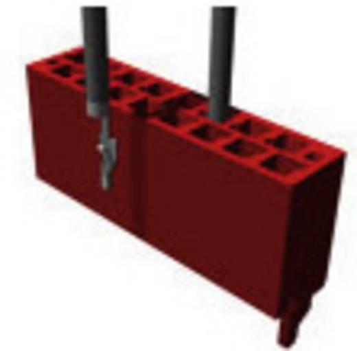 Nyáklap-nyáklap és szalagkábel-nyáklap csatlakozó, Raszterméret=1.27 mm Mikro-MaTch TE Connectivity 1-338095-0