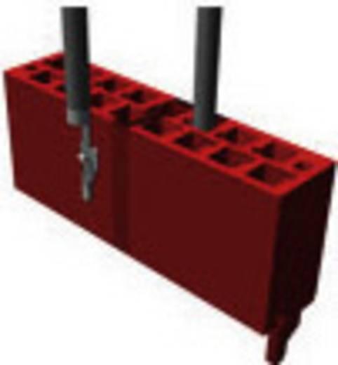 Nyáklap-nyáklap és szalagkábel-nyáklap csatlakozó, Raszterméret=1.27 mm Mikro-MaTch TE Connectivity 338095-4