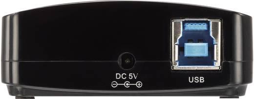 USB 3.0 4 port Hub tápegységgel, Renkforce