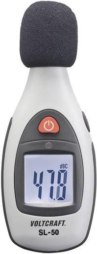 Decibel mérő, zajszintmérő 30 - 4 kHz 40 - 130 dB VOLTCRAFT SL-50