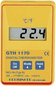 Digitális precíziós hőmérő, -65 - +1150 °C, Greisinger GTH 1170 (600687) Greisinger