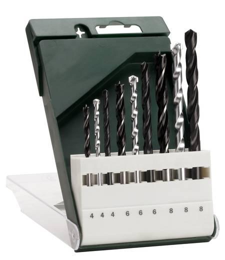 Bosch 9 részes fúrószár készlet, fafúró, fémfúró, falfúró és kőzetfúró készlet Bosch 2609255483