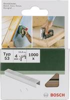 Kapocs 53-es típus 1000 db Bosch 2609255857 Kapocstípus 53 Méret (H x Sz) 4 mm x 11.4 mm (2609255857) Bosch Accessories