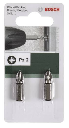 Bosch Csavarozó bit, Standard PZ 2609255922 Pozidriv PZ 1Hossz:25 mm