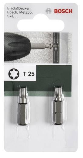 Csavarozó bit, Standard T Bosch 2609255936 T 27 Hossz:25 mm