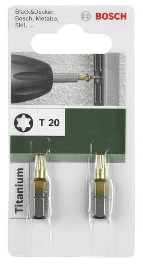 Csavarhúzó bit Titanium T Bosch 2609255942 T 20 Hossz:25 mm