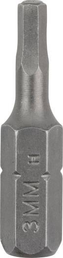 Csavarozó bit Standard HEX Bosch 2609255949 3 mm hossz:25 mm