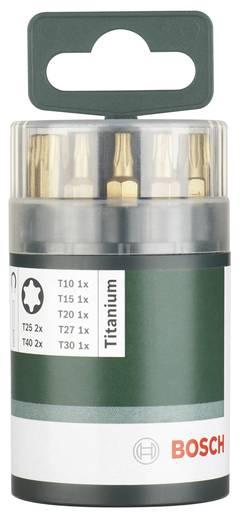 TIN bevonatos Bosch Titánium Torx BIT készlet, 10 részes 2609255979