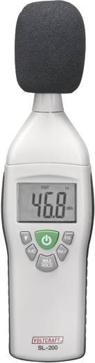 Digitális zajszintmérő 30 - 130 dB 31.5 Hz - 8 kHz VOLTCRAFT SL-200 SE